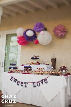 Dessert Buffet Purple