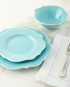 16-Piece Lyria Teal Dinnerware Service | Teal dinnerware Dinnerware and Salad plates & 16-Piece Lyria Teal Dinnerware Service | Teal dinnerware Dinnerware ...