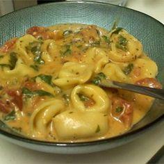 Spinach Tomato Tortellini - Allrecipes.com