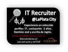 Si de puestos claves hablamos...  =>IT #Recruiter <=en el TOP 10.