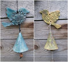 """Thanks for the kind words! ★★★★★ """"This seller is top notch! They took care of all our needs quickly and respectfully! The bird bell is beautiful!! Thank you!"""" Kathryn http://etsy.me/2iRtO5u #etsy #housewares #outdoor #gardendecor #birthday #easter #windchimes #folkornament #ethni"""