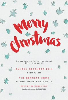 119 best christmas invitation templates images in 2018 christmas