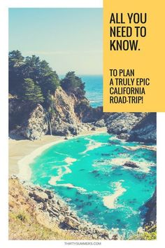 California road trip. All the road trip hacks you need. Just add sunshine & You!
