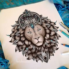 """""""Leo"""" by Brandi Young. Instagram Brizbazaar #shareIG. Leo. Astrological. Horoscope. Lion. Galaxy. Space. Cosmos. Cosmic. Jewel. Crown. Royal. Nature. Leaves. King. Queen. Gypsy."""