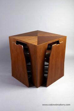 The Cube. Designed by Paul Reidt for KR+H's Hidden Kitchen series. Photography: Joel Benjamin