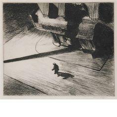 Edward Hopper, NIGHT SHADOWS (LEVIN 82)