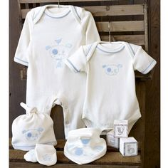 Organic So Cute Set by Natures Purest. Available at Little Button Bay