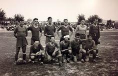 Con éste equipo, se logró el primer ascenso a Primera División. Temporada 39-40. #RealMurcia.
