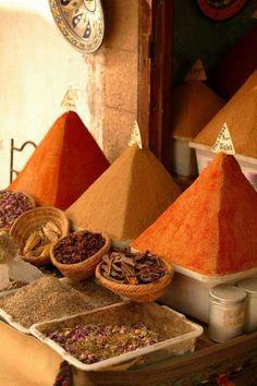 Berber spice blends.