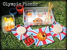 Celebrate the Games with an Olympic themed Picnic