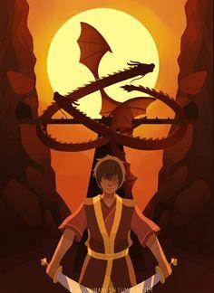 Dragon Zuko <3