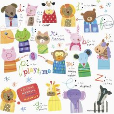 PLANNER IDEA - PAPER PIECED ANIMAL PAPER CLIPS - Show and Tell