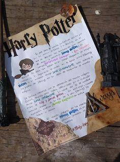 Bullet Journal Lettering Ideas, Bullet Journal Banner, Bullet Journal Writing, Bullet Journal School, Bullet Journal Ideas Pages, Harry Potter Letter, Harry Potter Journal, Harry Potter Theme, Harry Potter Drawings