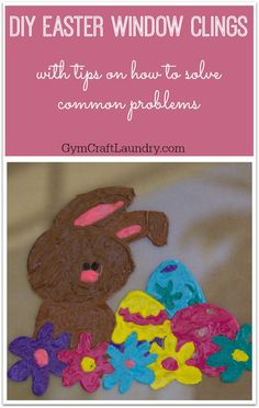 DIY Easter Window Cl