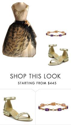 """Untitled #1425"" by crimsoncapo ❤ liked on Polyvore featuring Stuart Weitzman and LE VIAN"