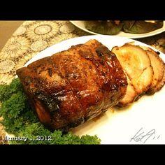 おせち料理1 Roast Pork #newyearsday #philippines