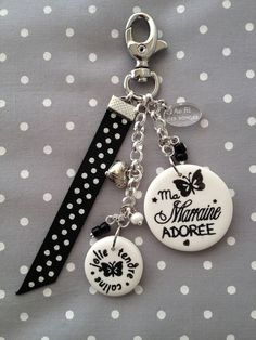 Find the perfect handmade gift, vintage & on-trend clothes, unique jewelry, and more… lots more. Diy Keychain, Key To My Heart, Bijoux Diy, Key Fobs, Key Rings, Jewelry Crafts, Beaded Bracelets, Etsy, Key Chains