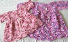 Resultado de imagen para vestidos a crochet de bebe