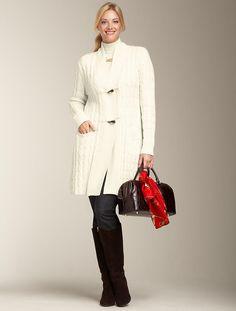 Winter White Cardigan