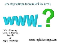 The first step in the creation of a website is a #domain_name. It is important that a business gets a unique identity over the internet which will enable it to generate traffic and prospective customers. Therefore, if you are about to establish a business online, then a detailed domain name search need to be conducted that would lead to a name and identity of the business. http://goo.gl/wLtfwz