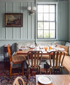 Where to Stay in Nantucket: Greydon House Nantucket Beach, White Shiplap Wall, Country Interior, Dining Nook, My Dream Home, Fine Dining, A Boutique, Decoration, Kitchens