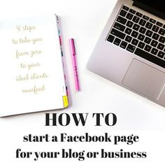 How to start a Facebook page for your blog or business - The Fit Niche