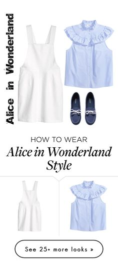 """Alice in Wonderland with H&M"" by writerjw on Polyvore featuring H&M"