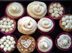 raw vanilla cupcakes - perfect for a ton of coconut flour i have left from forever ago