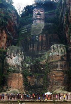 Leshan Giant Buddha.
