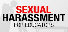 Check out Sexual Harassment for Educators on Eduhero! Too Cool For School, Back To School, School Stuff, Leadership Development, Professional Development, Teaching Second Grade, Nurse Office, School Safety, Bettering Myself