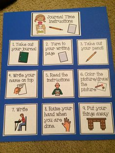 The Autism Adventures of Room 83: Writing Anchor Charts for Special Needs