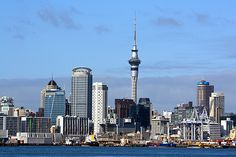 View of downtown Auckland