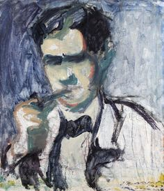 Jalmari Ruokokoskis, Portrait of Juho Mäkelä