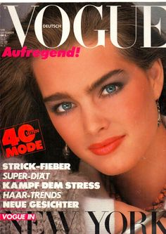 Young Brooke Shields (1131×1600) #cover #vogue