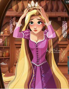 Disney Princess Drawings, Disney Princess Art, Disney Rapunzel, Tangled Rapunzel, Princess Rapunzel, Disney Drawings, Film Disney, Disney Nerd, Disney Fan Art