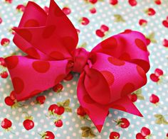 Make your own hairbows. What a huge cost saver!