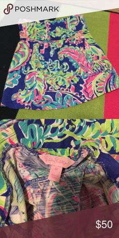 Lily Pulitzer tube top 💁🏼 Worn once! Lilly Pulitzer Tops