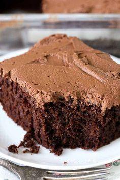 Chocolate Mayonnaise Cake Chocolate Ganache Frosting, Chocolate Mayonnaise Cake, Chocolate Banana Bread, Melt Chocolate, Choc Mayo Cake Recipe, Köstliche Desserts, Chocolate Desserts, Delicious Desserts, Dessert Recipes