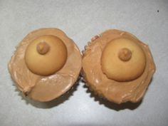 Boob Cupcakes- White trash party