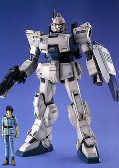 The EZ-8.  When his Gundam Ground Type was messed up, they didn't have the spare parts to fix it so they used whatever they had lying around.