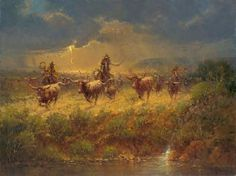 Harvey Art--Gol-durn Trouble by G. Harvey, a G. Harvey limited edition available from J Watson Fine Art 661 your source for G. G Harvey, Cowboy Art, Sports Art, Horse Pictures, Indian Art, Canvas Art Prints, New Art, Art Gallery, Cowboys