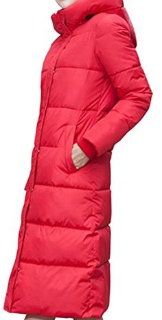Galsang Women's Winter Thick Slim Long Quilted Down Jacket Coat #Yr821