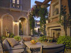 Venetain Palazzo - Lincoln Park, Chicago - mediterranean - landscape - chicago - BGD Corp