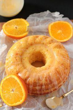 Easy Glazed Orange Bundt Cake More from my sitePerfected Everyday Orange Cake Food Cakes, Cupcake Cakes, Bundt Cakes, Mini Bundt Cake, Cake Cookies, Orange Bundt Cake, Orange Zest Cake, Orange Cakes, Orange Dessert
