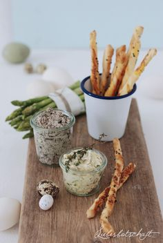 black olive and lemon and thyme butter.