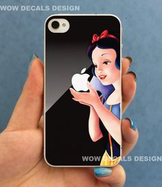 Snow White geek protective skin for iphone 4 & iphone by Wowdecals, $8.50... want this!!!!