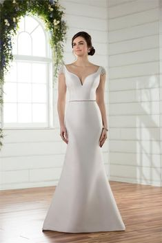 Essense of Australia Wedding Dresses - Search our photo gallery for pictures of wedding dresses by Essense of Australia. Find the perfect dress with recent Essense of Australia photos. Bridal Party Dresses, Bridal Gowns, Wedding Gowns, Wedding Bells, Essense Of Australia Wedding Dresses, 2017 Bridal, 2017 Wedding, Chic Wedding, Trendy Wedding