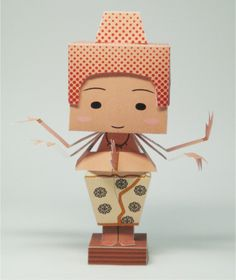 Asura papertoy by 21th Century Papercraft | Paper Toy (The Paper Toys Coop)