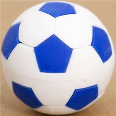 Iwako Cool Blue And White Soccer Ball Eraser By ** Read more reviews of the product by visiting the link on the image.Note:It is affiliate link to Amazon.