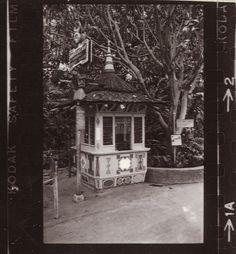 Disneyland Adventureland Ticket Booth, 1960s by Miehana, via Flickr
